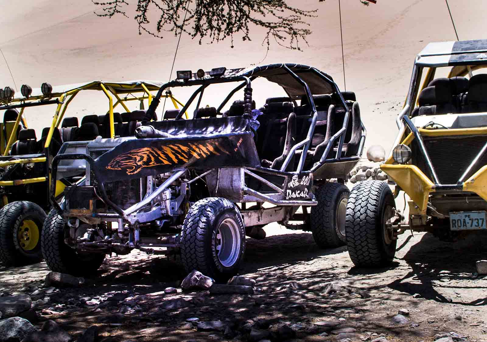 Sand Buggy Parking Lot