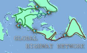 Global Highway Route Map
