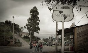 Driving through Colombia