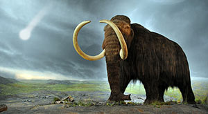 Cosmic Impact event seals fate of mammoths