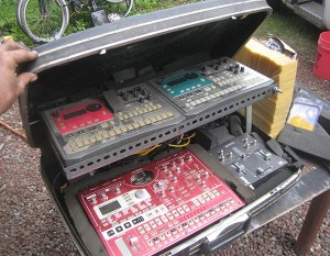 Electribe Liveset in a case for sale